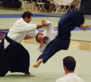 Christian Tissier at Aiki Expo 2005 sponsored by Aikido Journal