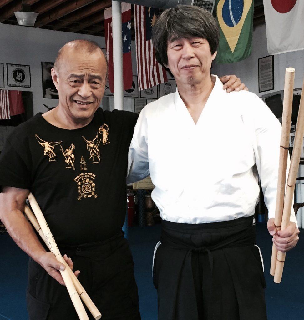 Dan Inosanto and Haruo Matsuoka