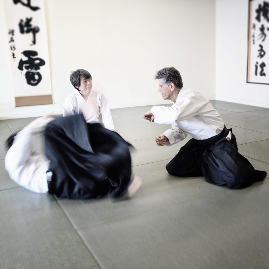 Stan shares the importance of proper hip utilization when executing suwariwaza kokyoho