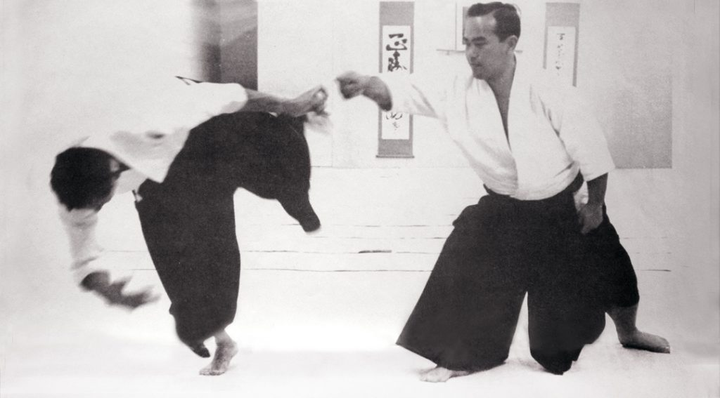 Tohei Sensei at the Aikikai in 1965