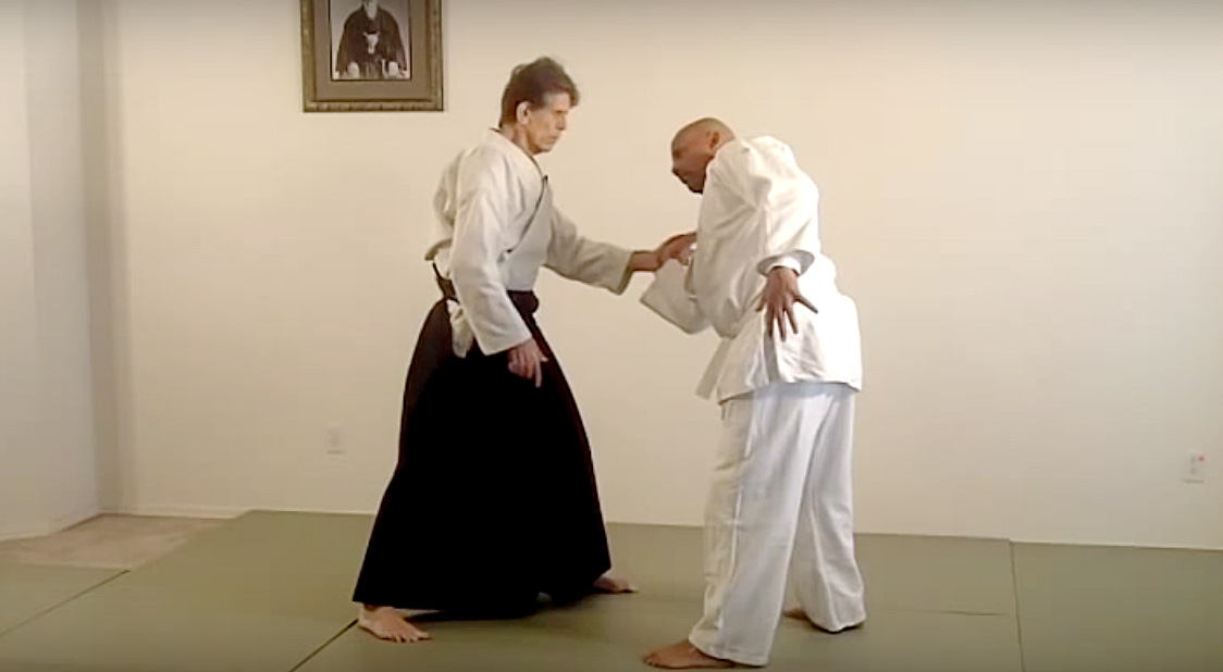 "Stanley Pranin discussing kotegaeshi from the ""Kotegaeshi Challenge"" video"