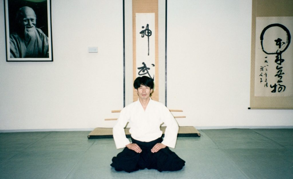 Matsuoka Sensei at Tenshin Dojo Los Angeles in the late 1990s. Taken shortly before closing the dojo and moving back to Japan in 1998.